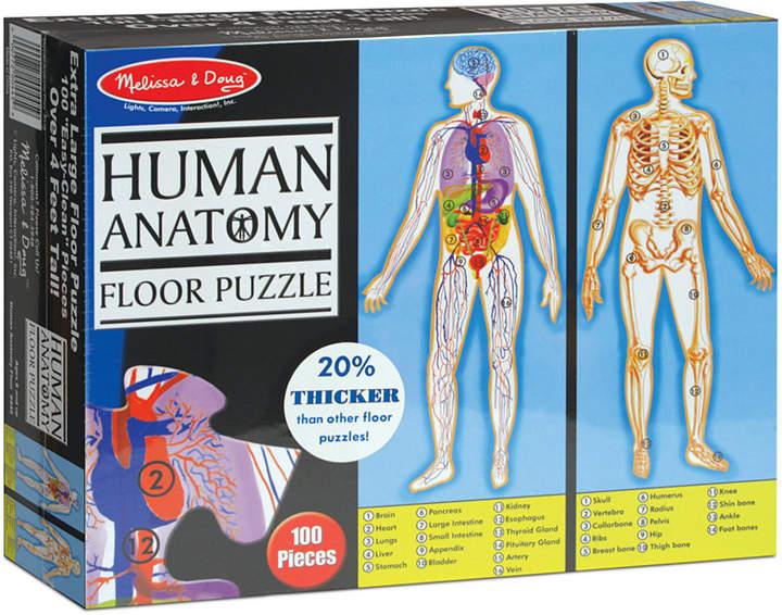 Melissa and Doug Kids Toy, Human Body 100-Piece Floor Puzzle