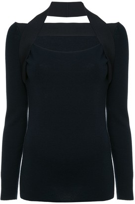 Dion Lee inter-layer fine knit sweater