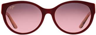 Maui Jim 100 Venus Pools 58 Red Cat Sunglasses
