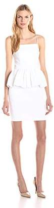 Tracy Reese Women's Stretch Cotton Peplum Dress $97.02 thestylecure.com