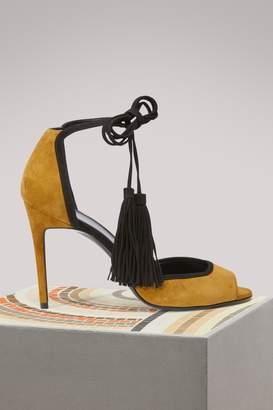 Pierre Hardy Majorelle leather sandals