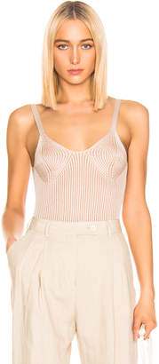 Mara Hoffman Tia Top in Cream Stone | FWRD