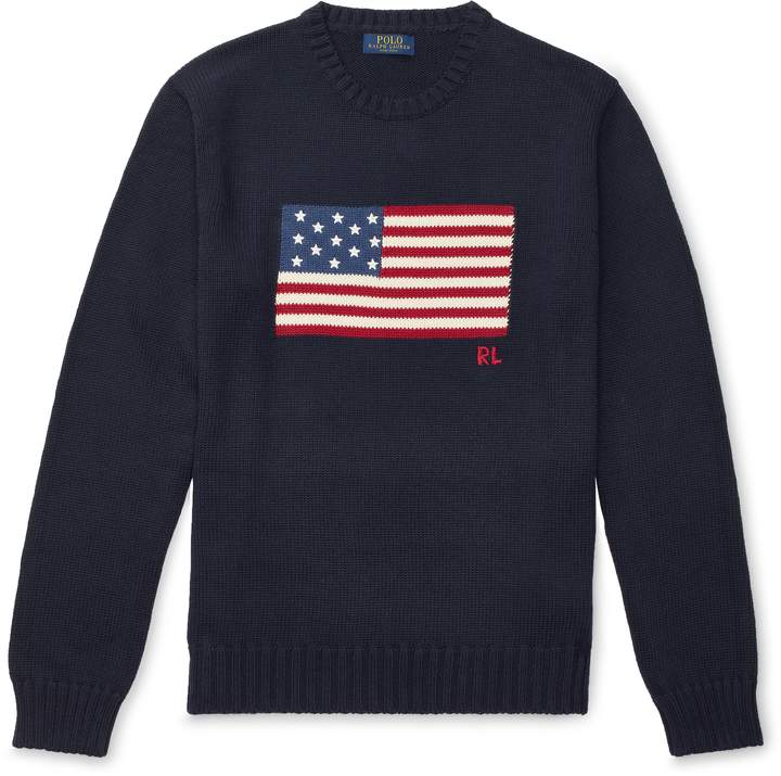 Ralph Lauren The Iconic Flag Sweater