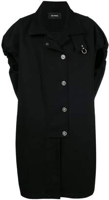 Raf Simons shortsleeved button coat