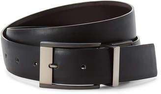 Calvin Klein Black & Brown Reversible Leather Belt