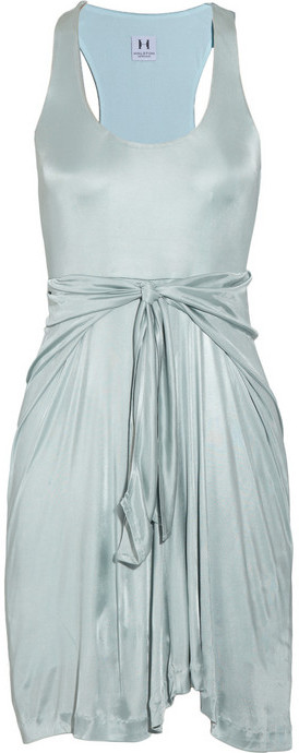 Halston Heritage Stretch-jersey tank dress