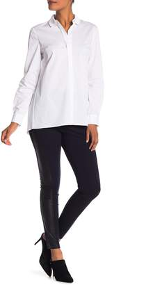 Elie Tahari Trina Lamb Leather Pants