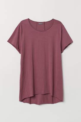 H&M Long T-shirt - Red
