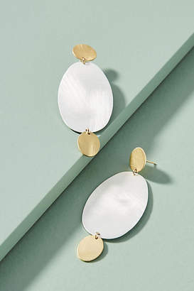 Anthropologie Totemic Drop Earrings