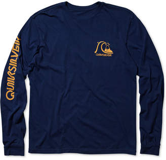 Quiksilver Men's Long-Sleeve Graphic-Print T-Shirt
