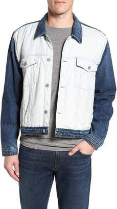 7 For All Mankind Inside Out Trucker Jacket