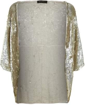 Jenny Packham Cinnabar Sequin Embellished Bolero Jacket