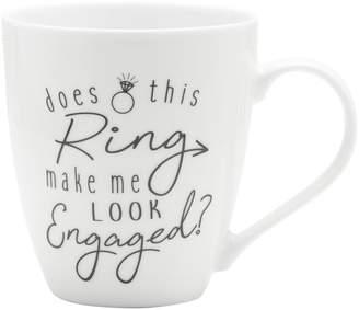 Mikasa Gourmet Basics Does This Ring Make Me Look Engaged Mug