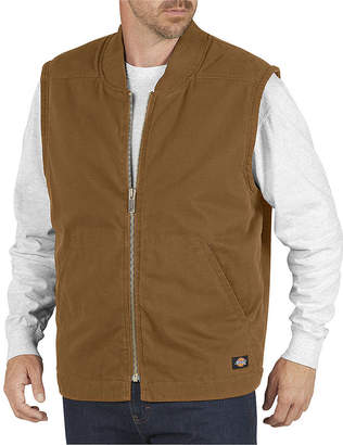 Dickies Insulated Sanded Duck Vest - Big