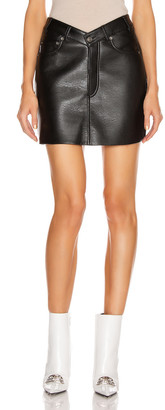 Balenciaga V Neck Skirt in Black | FWRD