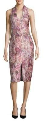Aidan Mattox Floral Dress