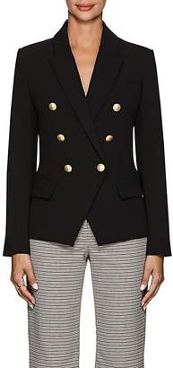 L'Agence Women's Kenzie Crepe Double-Breasted Blazer