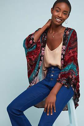Anthropologie Winchester Floral Kimono