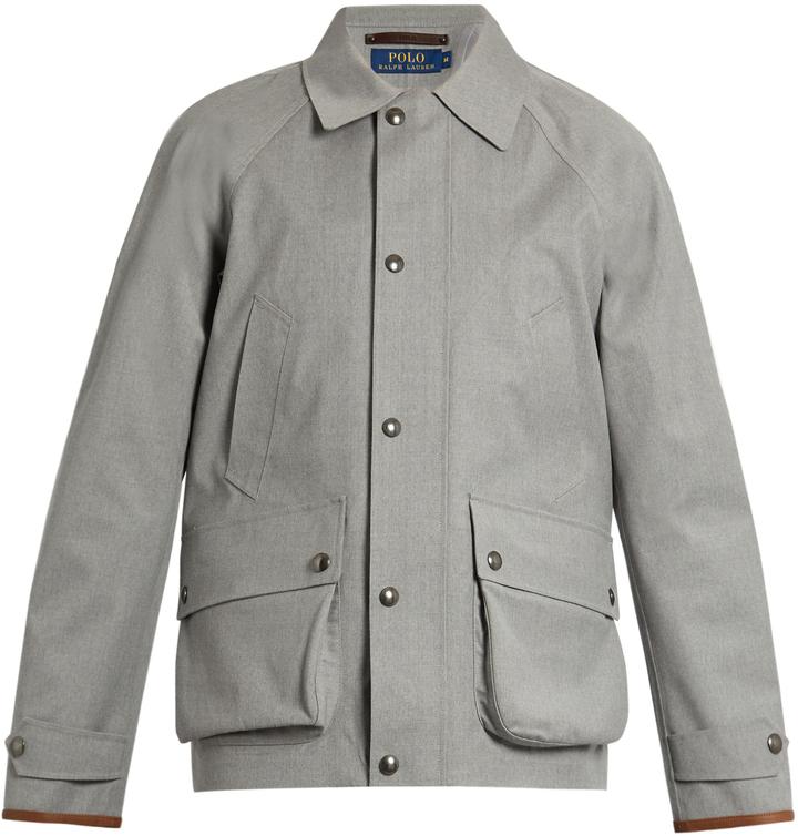 Polo Ralph LaurenPOLO RALPH LAUREN Water-resistant wool coat