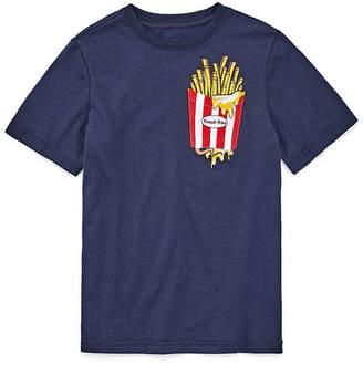 SEVEN OAKS Seven Oaks Pocket T'S Short Sleeve Crew Neck T-Shirt-Big Kid Boys