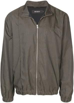 Misbhv snake effect lightweight jacket