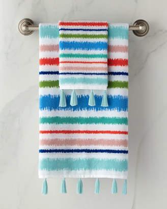 Dena Home Jacquard Bath Towel with Tassels