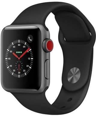 Apple Watch Series 3 - GPS+Cellular - 38mm - Sport Band - Aluminum Case