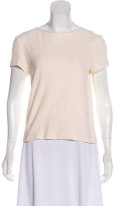 Helmut Lang Knit Short Sleeve Top