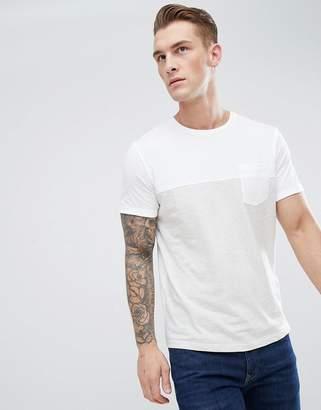 Jack and Jones Cut & Sew Pocket T-Shirt