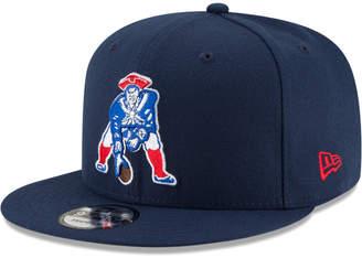 New Era New England Patriots Historic Vintage 9FIFTY Snapback Cap