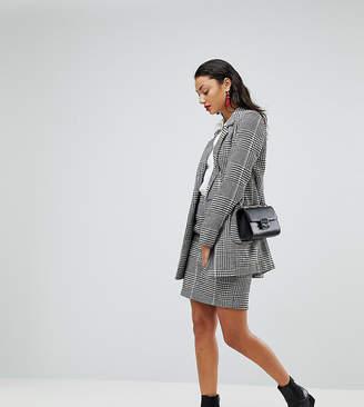 Vero Moda Tall Check Mini Skirt