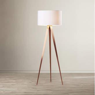 Wade Logan Teterboro 60.25 Tripod Floor Lamp