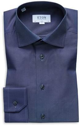 Eton Micro-Dobby Slim Fit Dress Shirt