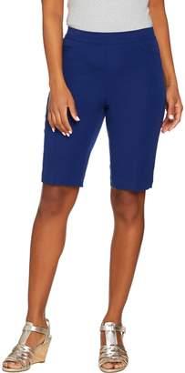 Isaac Mizrahi Live! 24/7 Stretch Pull-On Bermuda Shorts