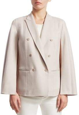Loro Piana Cashmere Double-Breasted Jacket
