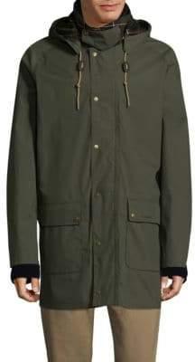 Barbour Drawstring Button Jacket