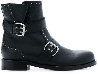 Jimmy Choo Blyss biker boots
