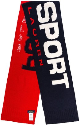 Polo Ralph Lauren logo scarf