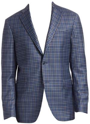 Saks Fifth Avenue Plaid Sportcoat