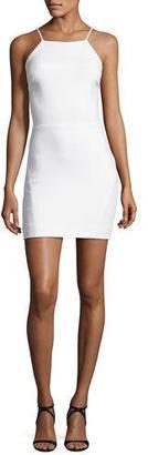Elizabeth and James Lane Sleeveless Cutout-Back Mini Dress, White $365 thestylecure.com