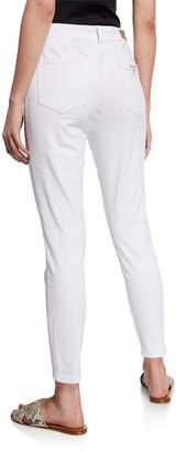 Velvet Heart Hanna High-Rise Skinny-Leg Lace-Up Jeans