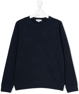 Stella McCartney Teen Betty starfish sweatshirt