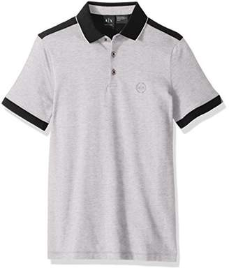 Armani Exchange A|X Pique Polo
