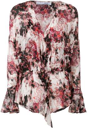 IRO all-over print blouse