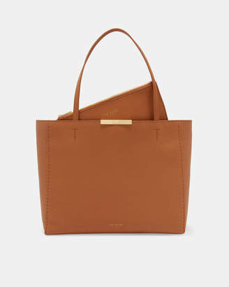 Ted Baker CLARKIA Soft leather shopper bag