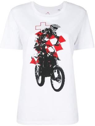 A.F.Vandevorst print short-sleeve T-shirt