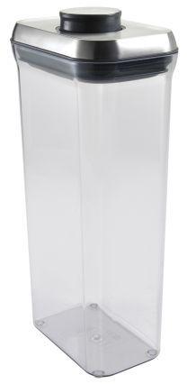 OXO SteeL Pop Rectangular Container, 3.4 qt.