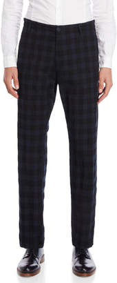 Imperial Star Plaid Straight Leg Pants