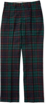 Ralph Lauren Plaid Wool Newport Pants, Black, Size 2-7 $115 thestylecure.com