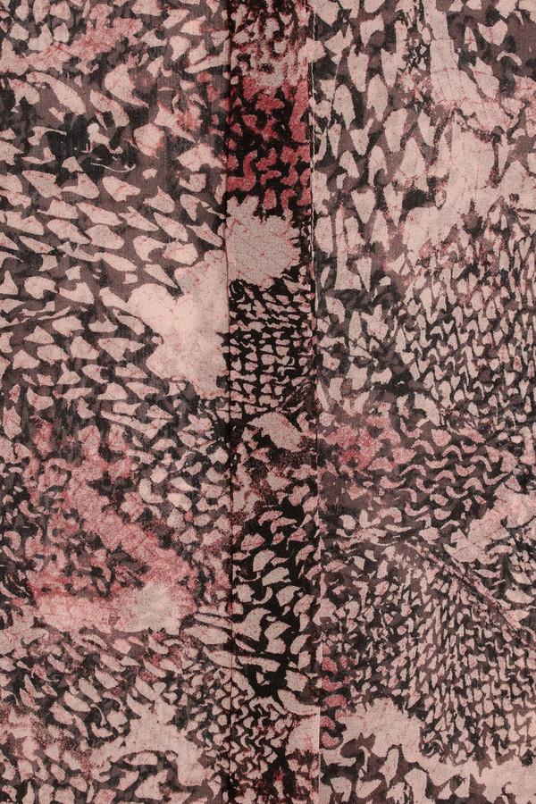 IRO Georgina printed silk-chiffon shirt
